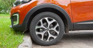 параметры колес каптур