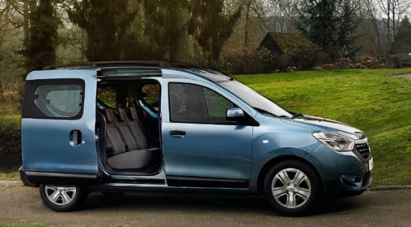 Renault Dokker (Докер) 2018 : фото цены характеристики